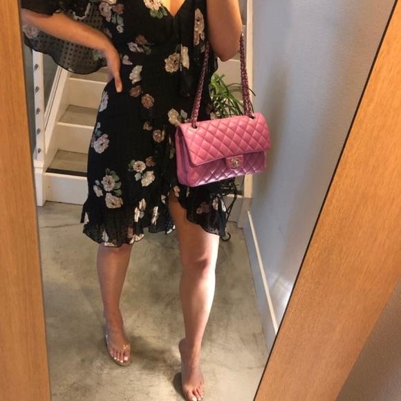 CHANEL Handbags - Authentic CHANEL Lavender Pink Classic Double Flap